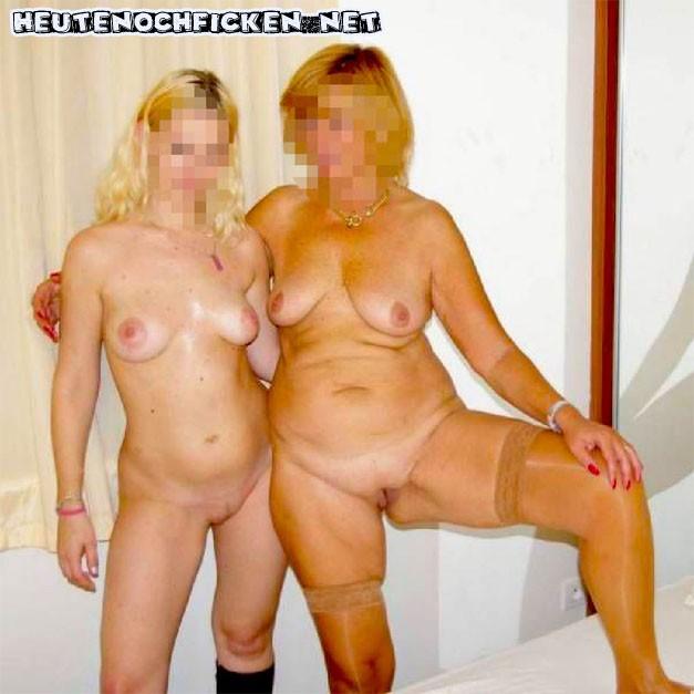 Mutter und Tochter ficken
